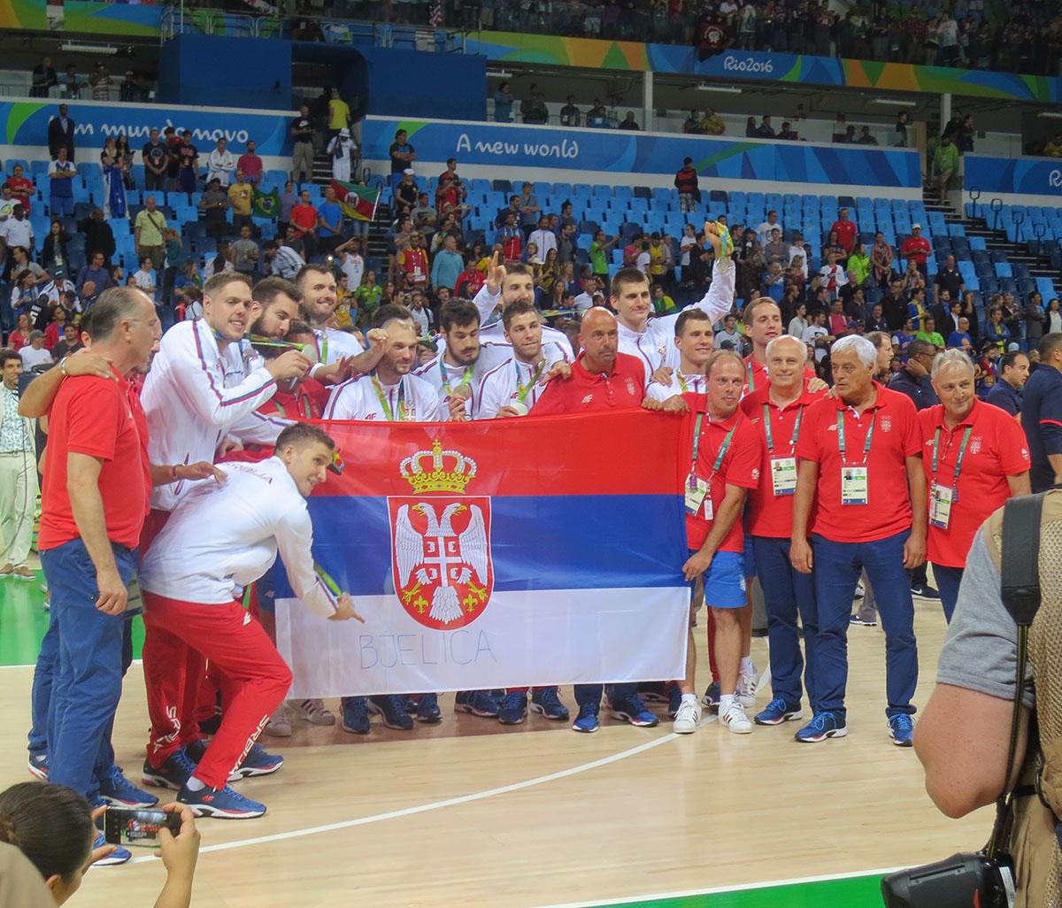 Dr Dikić je radio doping kontrolu na finalu košarke Olimpijskih igara