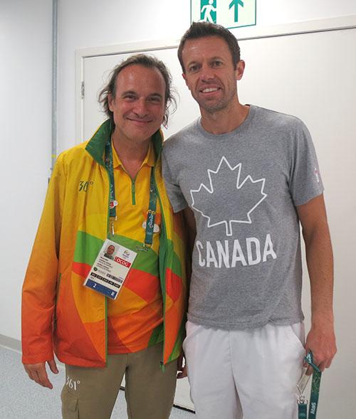 Dr Nenad Dikić je na tenisu imao priliku da testira Danijela Nestora