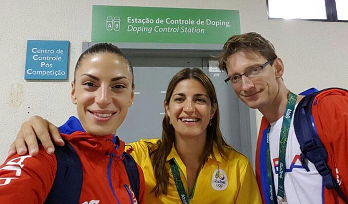 Dr Marija Anđelković je testirala Ivanu Španović nakon osvajanja bronzane medalje na Olimpijskim Igrama