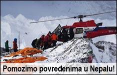 Pomozimo povređenima u Nepalu
