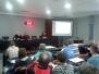 2013, 23 decembar - Predavanje o dopingu, ishrani i suplementaciji u kući fudbala